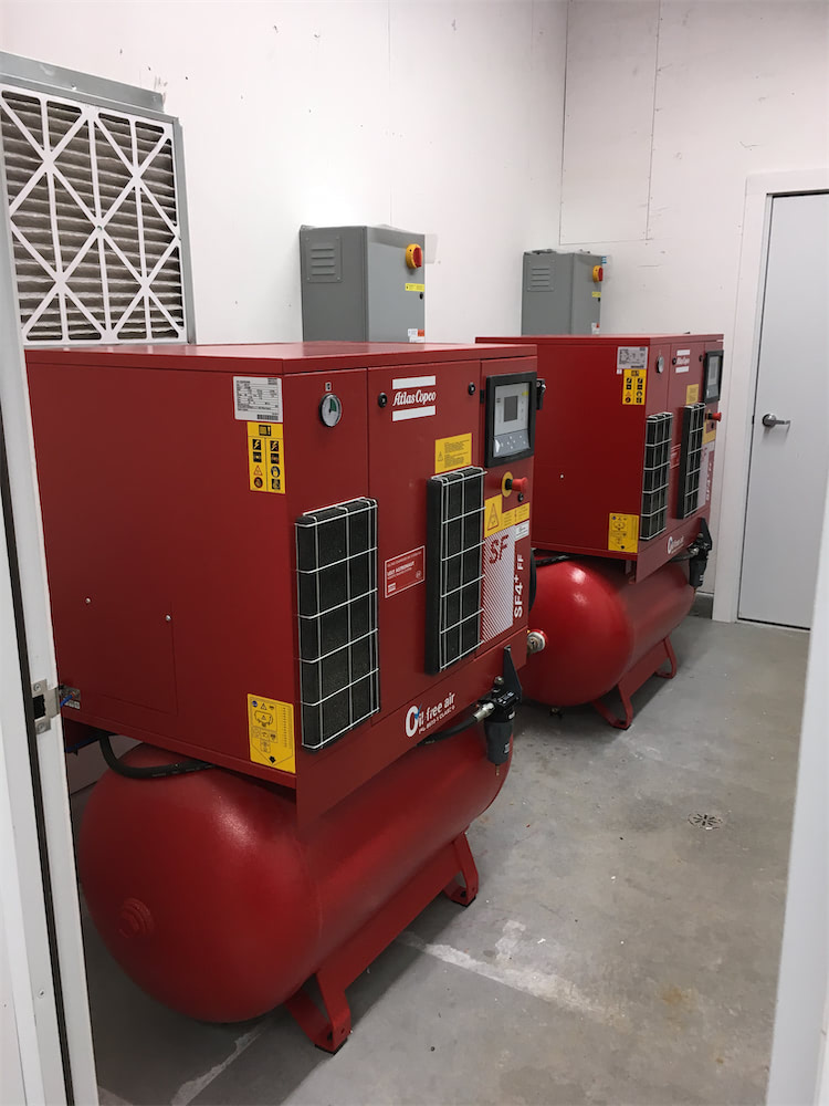 AIR COMPRESSOR ROOM